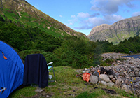 Campsite Red Squirrel - Glencoe