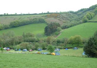 Campsite-Westermill-Farm - Exford Minehead